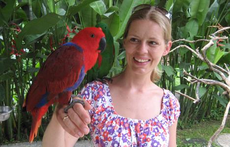 Susanne van der Jagt-Balje, een van de dierenartsen bij dierenkliniek Zeist
